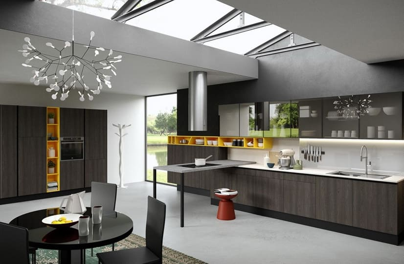 Inline Shaped Kitchen Manufacturers In Noida, Inline Shaped Kitchen Manufacturers In Gurgaon