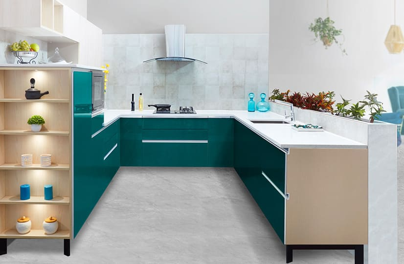 U Shaped Kitchen Manufacturers, U Shaped Kitchen Manufacturers In Noida, U Shaped Kitchen Manufacturers In Gurgaon